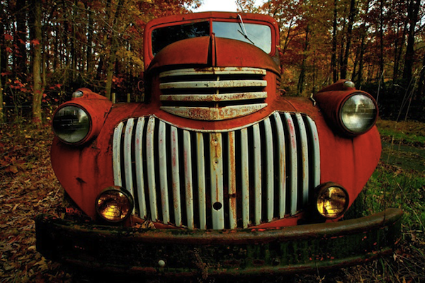 Rustic Truck Photograph